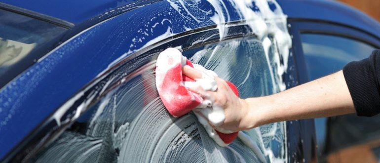 Как мыть машину чтобы не было грязных разводов