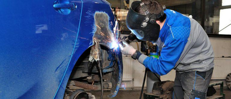 Как заварить автомобиль полностью удалив ржавчину