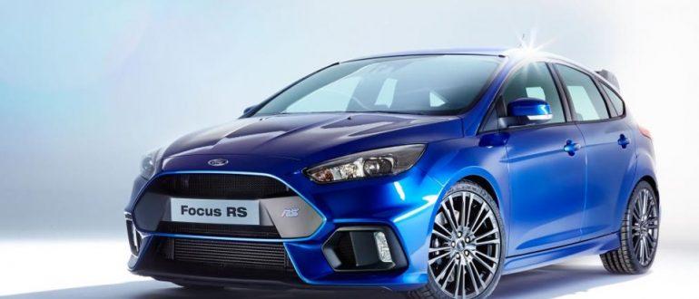 Ford Focus RS пережил очередной рестайлинг