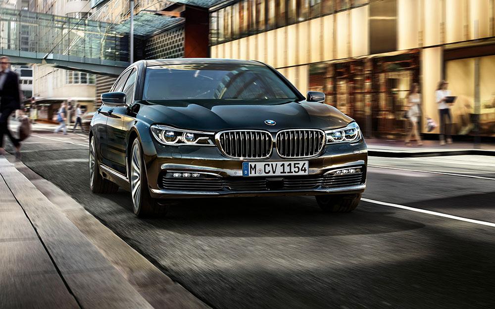 Обзор BMW 7 2016