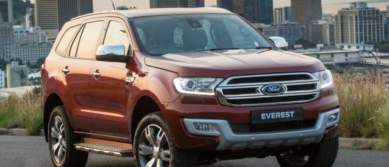 Обзор внедорожника Ford Everest