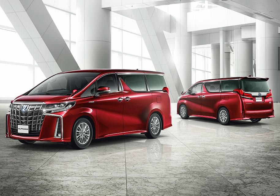 Обзор микроавтобусов Toyota