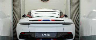 Aston Martin DBS Superleggera «Concorde edition» готовится к скорому раскрытию