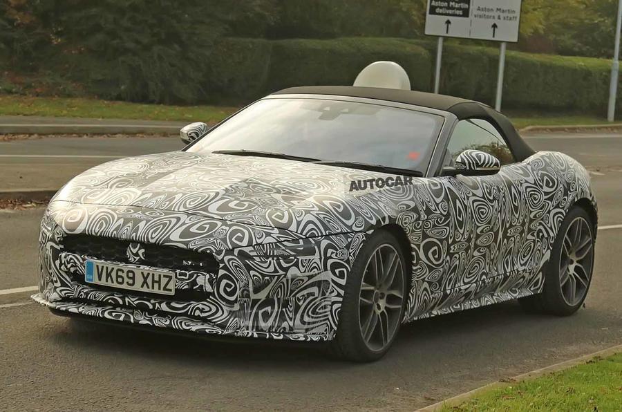 Новый Jaguar F-Type: рестайлинг 2020 года