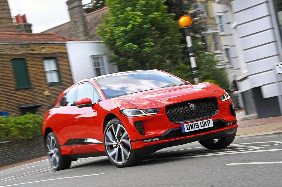 Обновленный Jaguar I-Pace увеличивает дальность и емкость аккумулятора