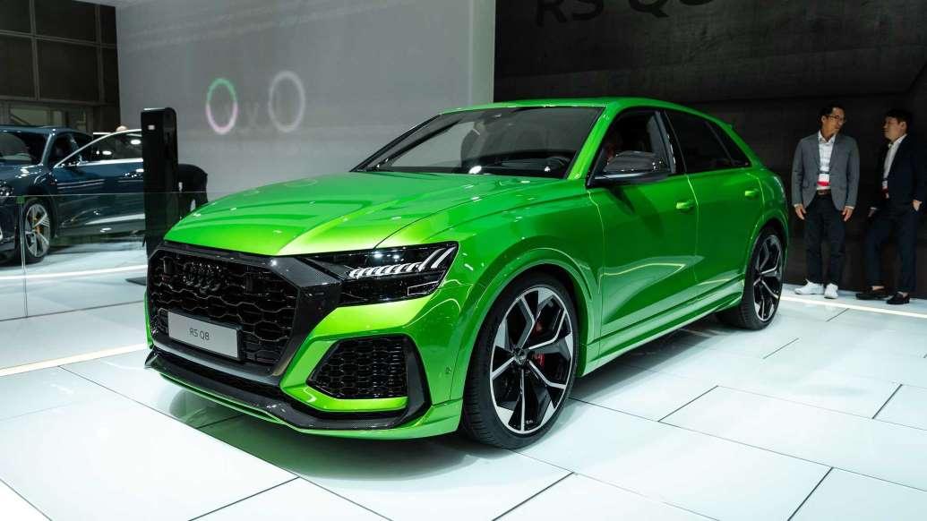 Audi говорит, что колеса размером больше 23 дюймов «не имеют смысла