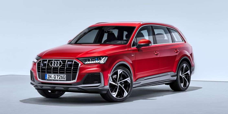 Audi Q7 2020 года выпускает новый V-6 для Америки, а четырехцилиндровый - позже