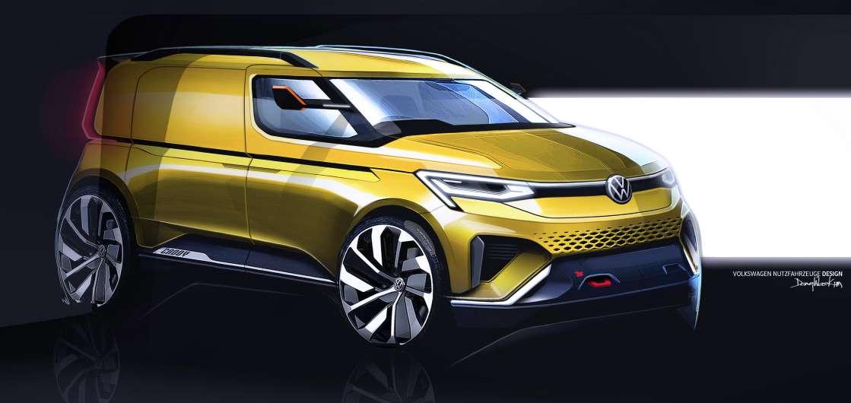 VW анонсирует Van-friendly Caddy, который может стать Ford Transit Connect