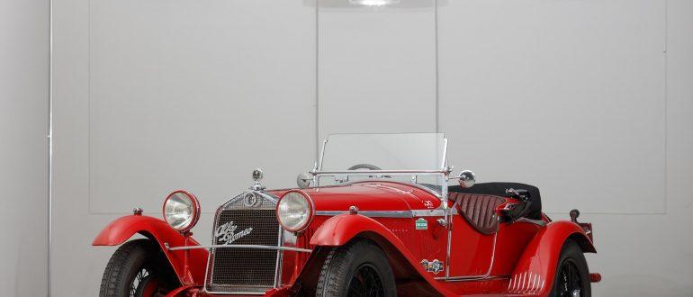 Фотографии автомобиля Alfa Romeo 6C 1750 Gran Sport 1930 года.
