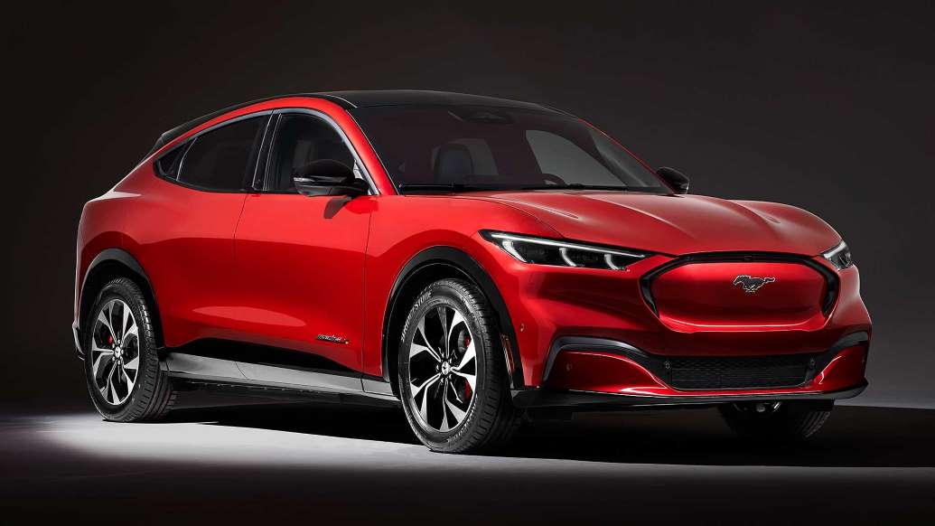 Раскрыты новые детали о Ford Mustang Mach-E
