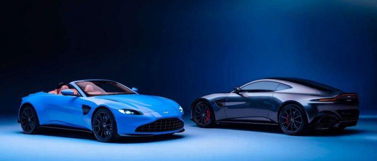Британский красавец: Родстер Aston Martin Vantage 2021 года