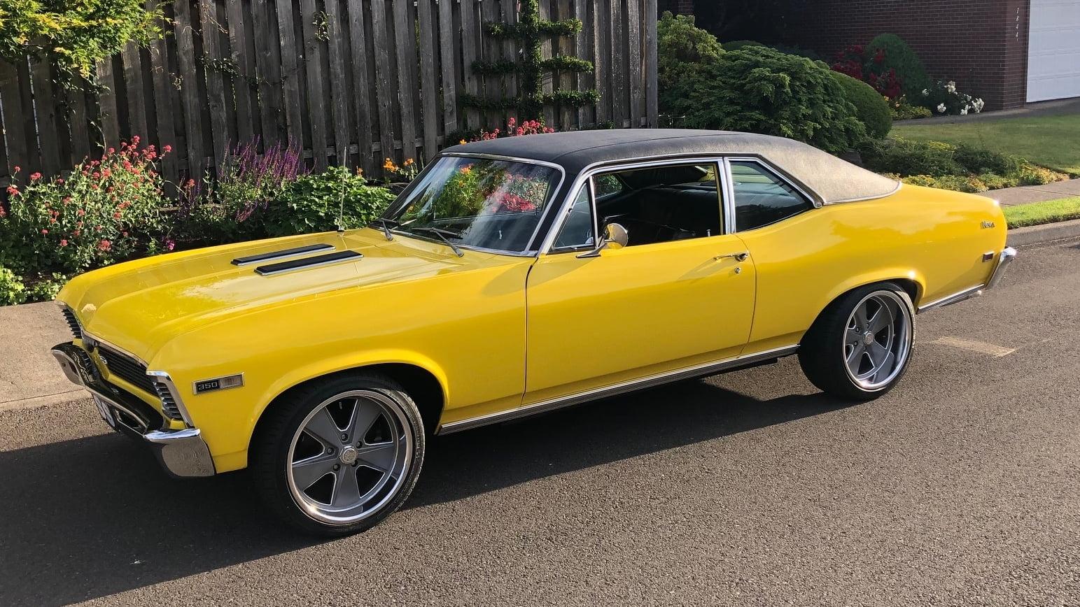 Фотографии автомобиля CHEVROLET NOVA RESTO MOD 1968 года.