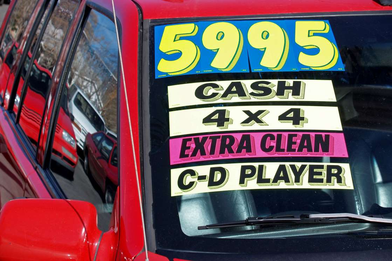 Страх надвигающегося ценового обвала охватывает автомобильную промышленность