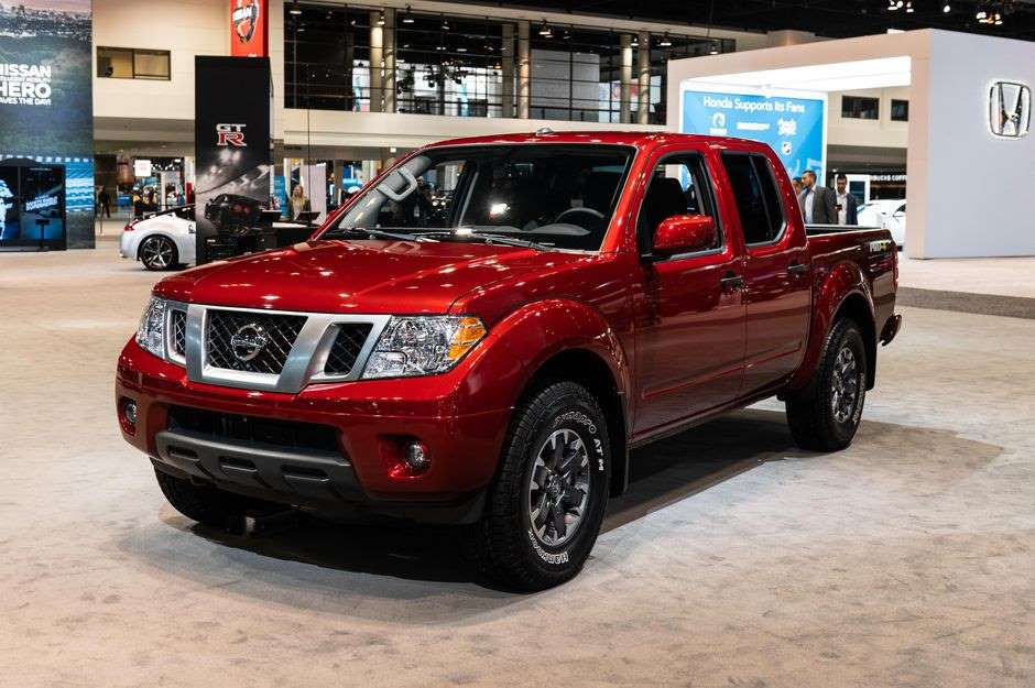 2021 Nissan Frontier - в основном все новое