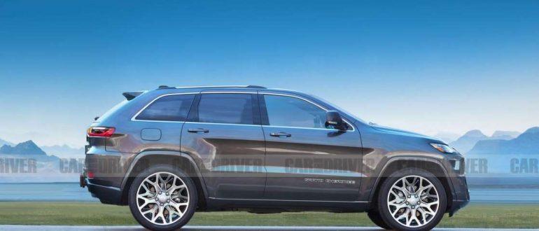 Jeep Grand Cherokee 2021 - новая модель впервые за десятилетие