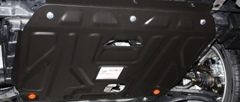 Отсутствие защиты двигателя - повод задуматься. Стальная и пластиковая защита картера