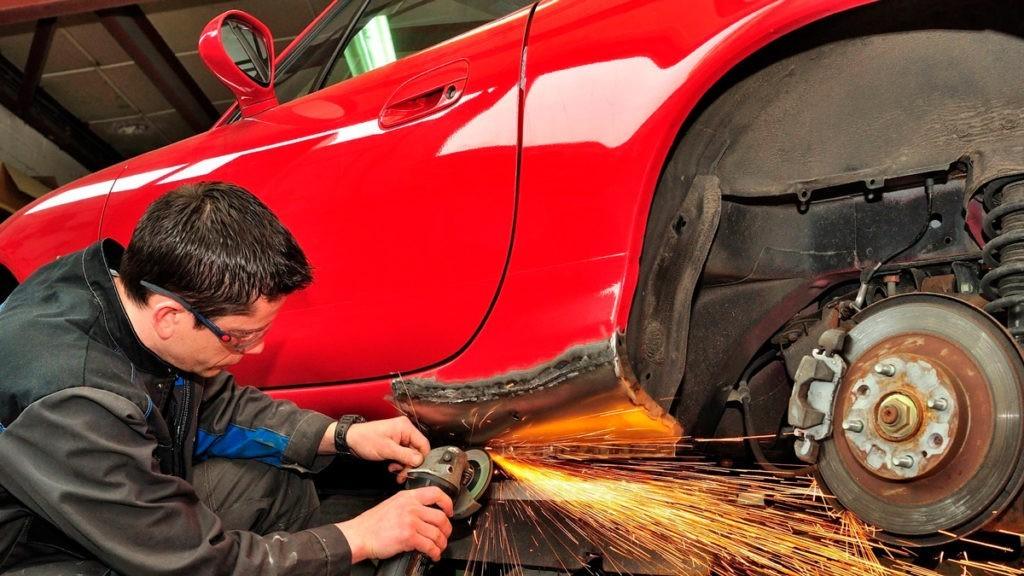 Кузовной ремонт автомобиля