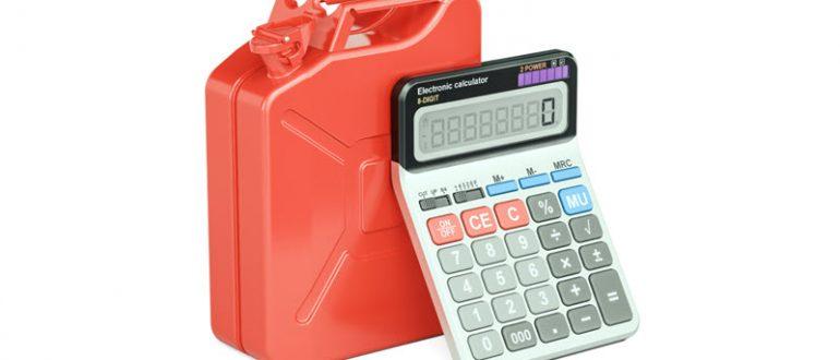 Калькулятора расхода топлива для всех марок авто