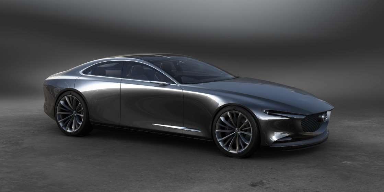 На выставке представлен новый шестицилиндровый двигатель Mazda