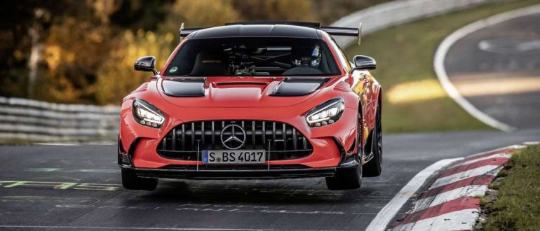 Mercedes-AMG GT Black Series установил рекорд