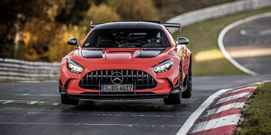 Mercedes-AMG GT Black Series установил рекорд