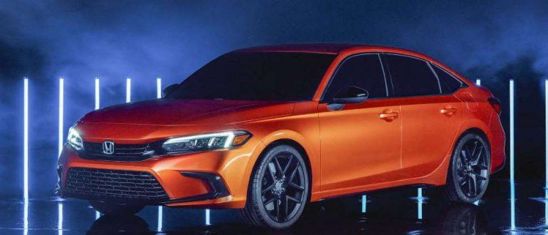 Премьера прототипа Honda Civic 2022 года