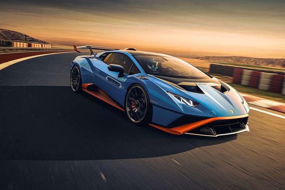 Lamborghini Huracan STO - гоночный автомобиль для улицы