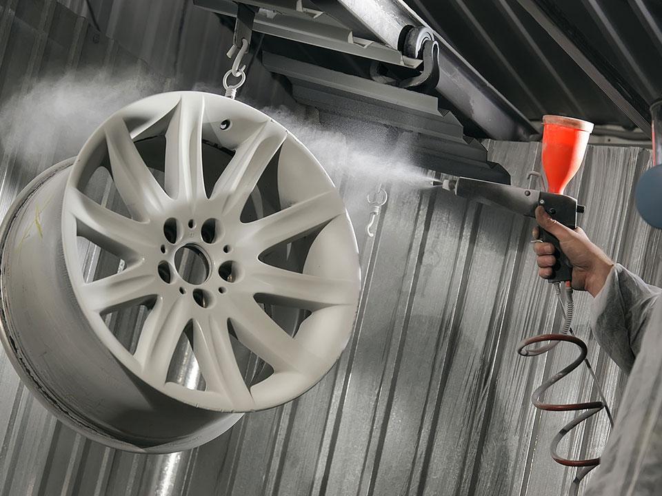 Сложности при покраске автомобильных дисков