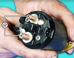Как проверить втягивающее реле стартера. Проверка и ремонт втягивающего реле стартера