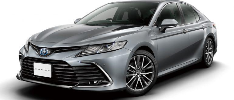Что нового в Toyota Camry 2021?