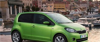 Обзор автомобиля Skoda Citigo